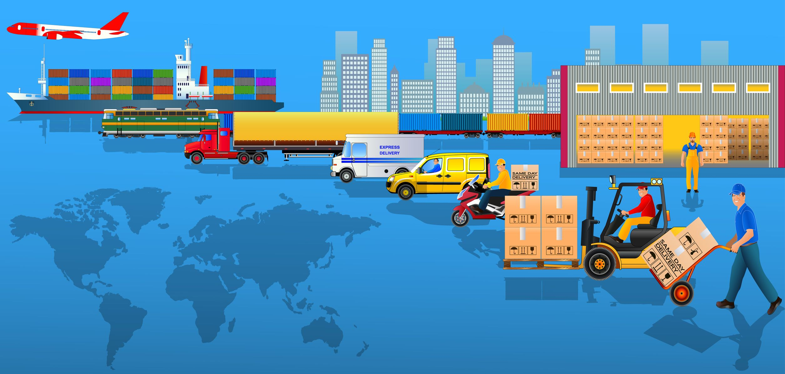 List of Gains by Opting for Logistics and Supply Chain Management
